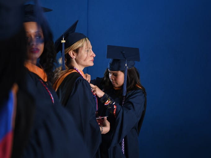 75th Commencement ceremony of Fairleigh Dickinson University