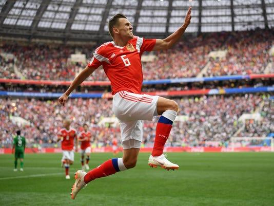 BESTPIX - Russia v Saudi Arabia: Group A - 2018 FIFA World Cup Russia