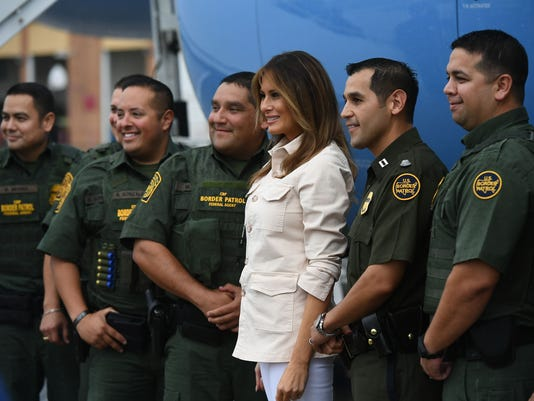 US-POLITICS-IMMIGRATION-MIGRANTS-MELANIA