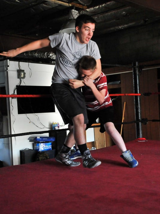 total nonstop kids wrestling
