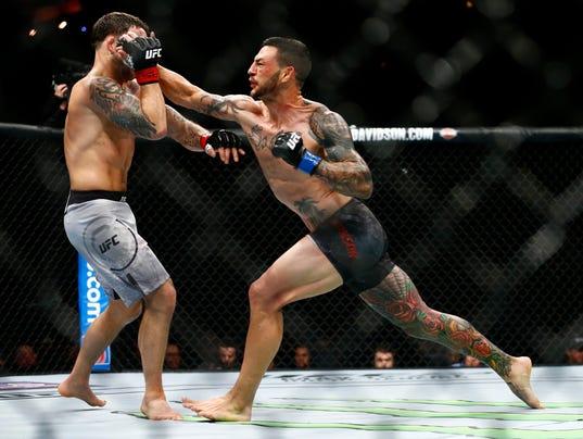 MMA: UFC Fight Night-Edgar vs Swanson