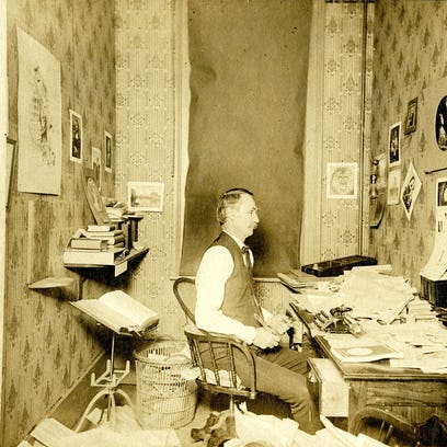 Oregon Governor Theodore Thurston Geer in office, circa 1898