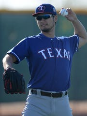 Yu Darvish is returning from Tommy John elbow surgery.
