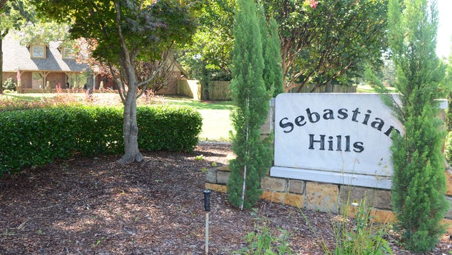 Residents of Fort Smith's Sebastian Hills used a petition with more than 200 signatures to convince the Planning Commission to vote down the application to change the zoning of some adjacent land.