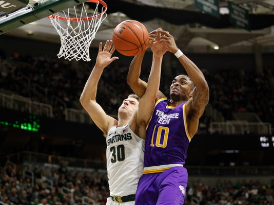NCAA Basketball: Tennessee Tech at Michigan State