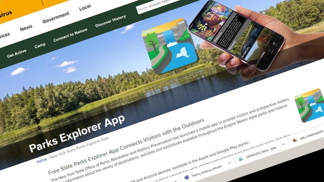 The New York State Parks Explorer app allows users to learn more information about their favorite destinations and discover new spots.