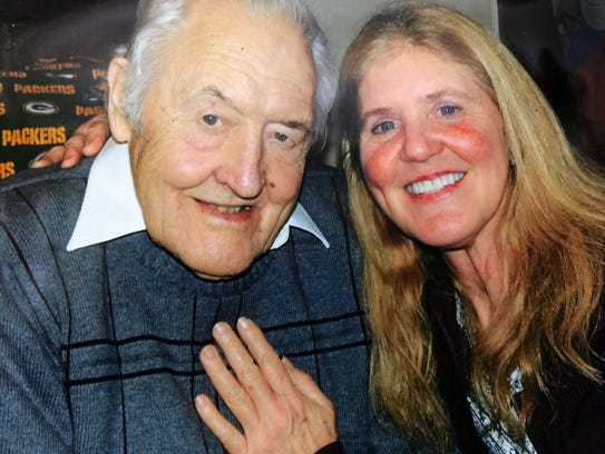 Ed Kastelic with his daughter Reyne Kastelic from Sept.