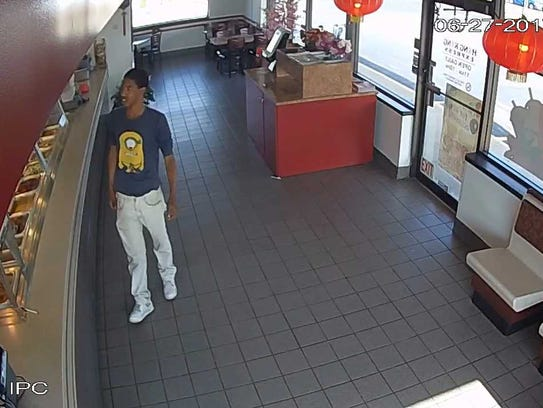 Suspect in armed robbery on June 27 at Hong Kong Express
