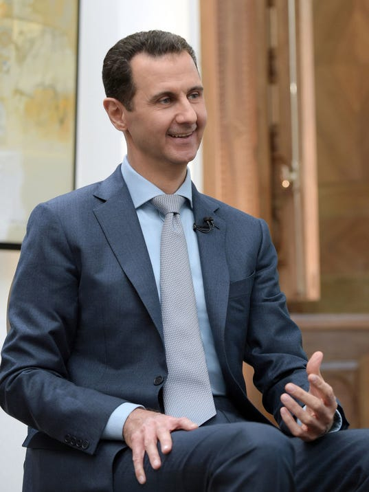 EPA SYRIA PRESIDENT ASSAD INTERVIEW POL GOVERNMENT SYR SY