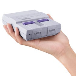 Nintendo is launching a Super NES Classic in September