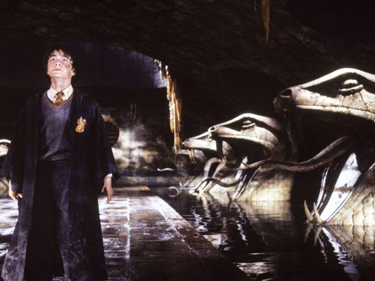 """Actor Daniel Radcliff appears in a scene from """"Harry Potter and the Chamber of Secrets."""""""