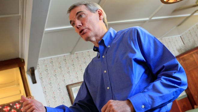 Sen. Rob Portman, R-Ohio, served as an observer for the presidential election in Ukraine.