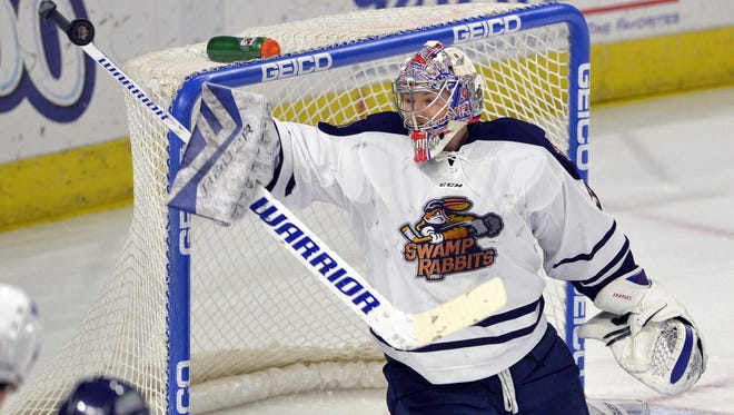 The Greenville  Swamp Rabbits hosted the Florida Everblades in an ECHL hockey game Saturday, Jan. 9, 2016 at BSWA.