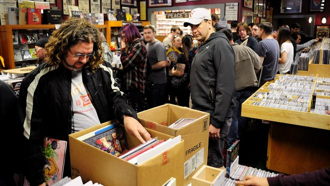 Record Store Day will be celebrated April 16 at Ranch Records, 237 High St. NE.