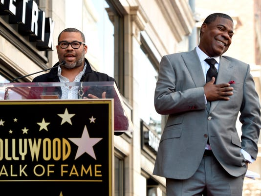 AP APTOPIX TRACY MORGAN HONORED WITH A STAR ON THE HOLLYWOOD WALK OF FAME A ENT USA CA