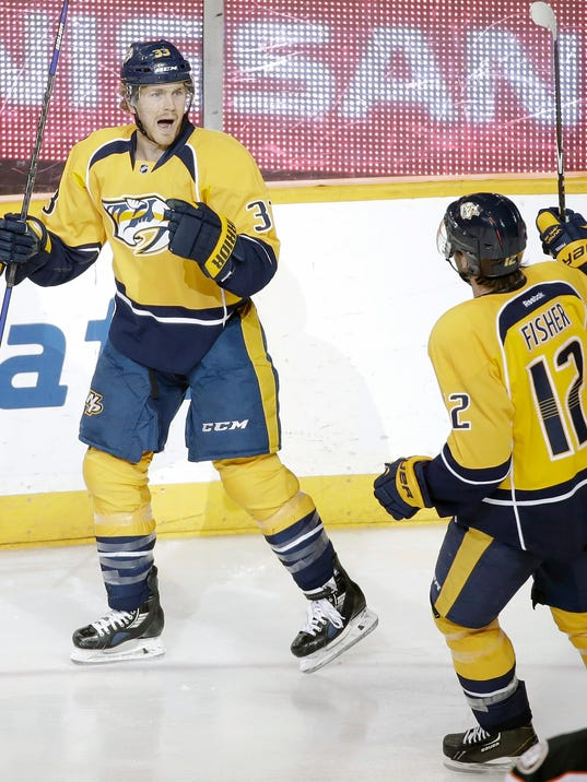 Colin Wilson, Mike Fisher