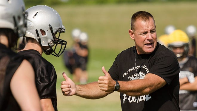 Mike Sawchuk is stepping down after 12 seasons as Plymouth High football coach.