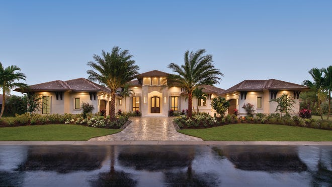 This custom home by Castle Harbour Homes was honored with the 2016 Showcase Top Honor award.