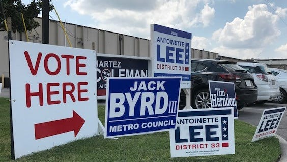 The District 33 Metro Council special election features five candidates.
