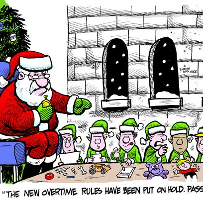 December political cartoons from the USA TODAY Network