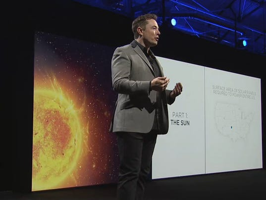 Tesla Energy home battery unveiling