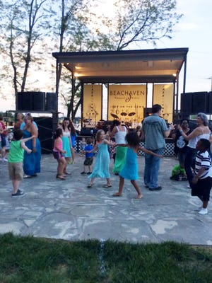 Beachaven Winery in Clarksville holds a Jazz on the Lawn concert series.