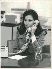 Mary Tyler Moore in 'The Mary Tyler Moore Show.'