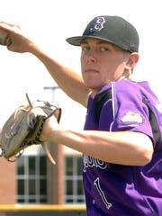 Brownsburg High School baseball pitcher  Drew Storen