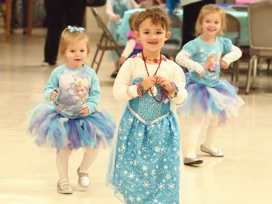 Aldersgate United Methodist Church was the site of the 'Frozen Winter Carnival' Wednesday night. Becky Buckley, leader of adult ministries, emphasized Nehemiah 8:10, 'The joy of the Lord is your strength.'
