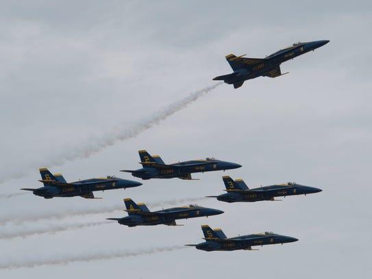 Blue Angels Flight Demonstration Squadron