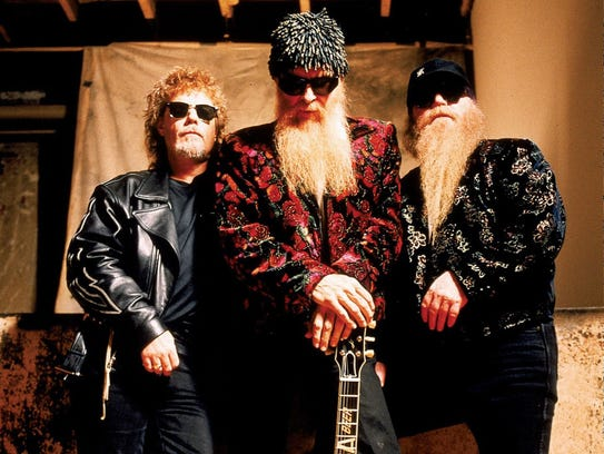 ZZ Top will perform at 7:30 p.m., Wednesday, May 24