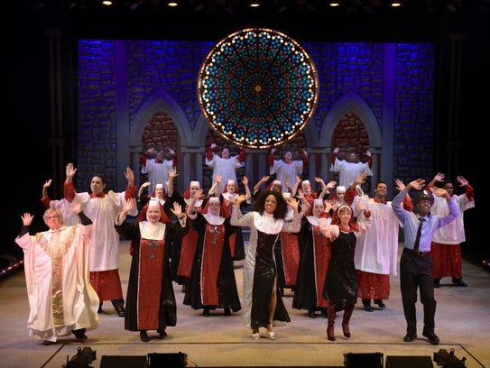 """The cast of """"Sister Act."""" The show based on the hit"""