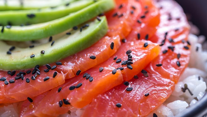 Fresh salmon combined with spicy, sweet and savory ingredients come together for a healthy meal that anyone can master.