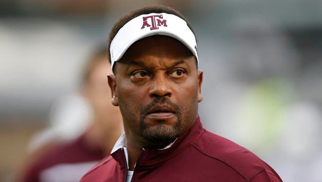 Texas A&M coach Kevin Sumlin said he hasn't seen any turmoil since two quarterbacks left the program.