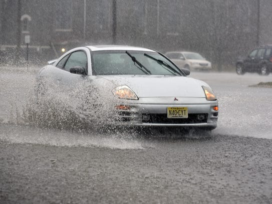 Be careful on the roads: New Jersey is in for storms