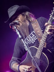 Cody Jinks performs at the Pot of Gold Music Festival