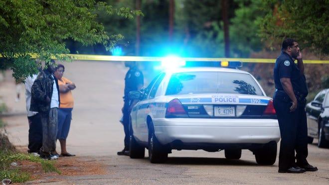 Jackson Police investigate a shooting