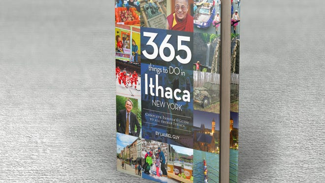 365 Things to Do in Ithaca has a list price of $24.99.