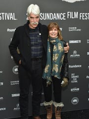 Sam Elliott and Katharine Ross attend the premiere