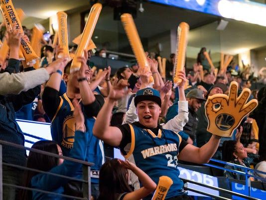 USP NBA: FINALS-GOLDEN STATE WARRIORS AT CLEVELAND S BKN CLE GSW USA CA