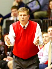 Susquehannock coach Dave Schreiner watched his Warriors fall to Lower Dauphin on Tuesday. YORK DISPATCH FILE PHOTO