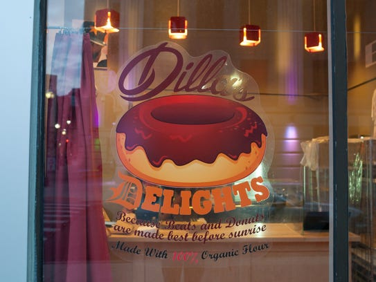 Dilla's Delights donut shop, run by the family of the