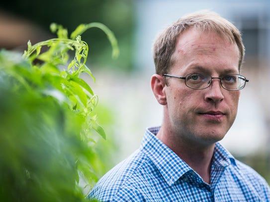 Phil Steffensmeier, 37, a mental health advocate from