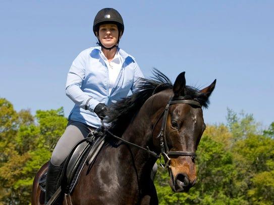Novi Equestrian Expo/Horse trainer and clinician Julie