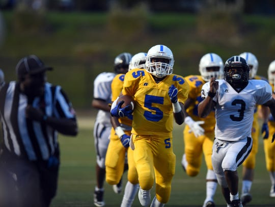 Sumrall wide receiver Dannis Jackson hopes to add another