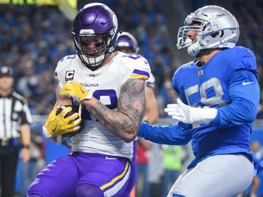 USP NFL: MINNESOTA VIKINGS AT DETROIT LIONS S FBN DET MIN
