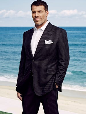 Tony Robbins, millionaire author and philanthropist, donated $24,000 to help Evelyn Heller.