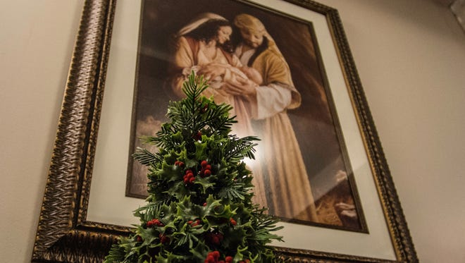 The Spirit of Christmas is gathering to give thanks to God for sending the savior of the world.