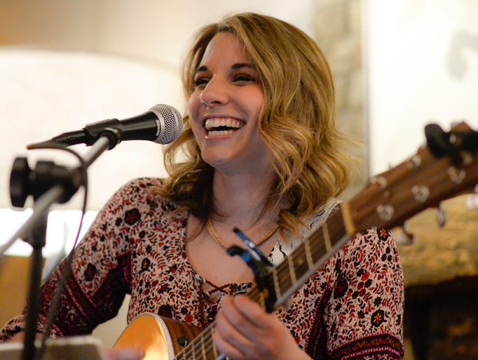 Palmyra singer/songwriter Olivia Farabaugh performed