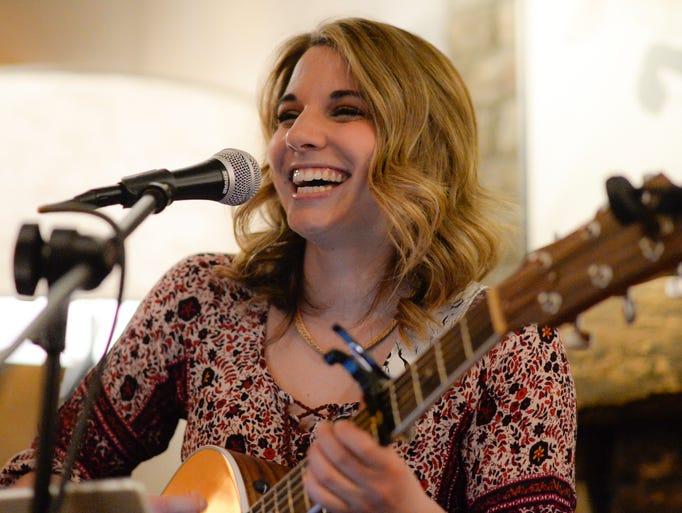 Palmyra singer/songwriter Olivia Farabaugh performed